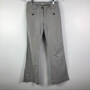 Ann Taylor LOFT corduroy stretchy flare pants sz 0